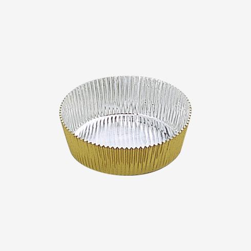A1071G 7cm 丸型 〔金色〕
